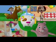 Enganchados Canciones Infantiles - Juguemos en el Campo Elementary Spanish, Teaching Spanish, Jolly Phonics, Blended Learning, Spanish Language, School Days, Little Babies, Fairy Tales, Youtube