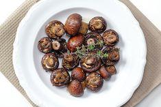 Μανιτάρια Ψητά με Μπαλσάμικο Sprouts, Vegetables, Ethnic Recipes, Food, Veggies, Vegetable Recipes, Brussels Sprouts, Meals, Yemek