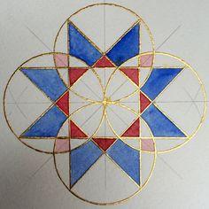 Islamic Art Pattern, Arabic Pattern, Pattern Art, Pattern Painting, Pattern Drawing, Motifs Islamiques, Geometric Drawing, Math Art, Islamic Art Calligraphy