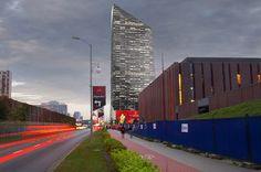 Office building in Katowice #architecture #render #poland #skyscraper #office #building   goo.gl/UMwh1p