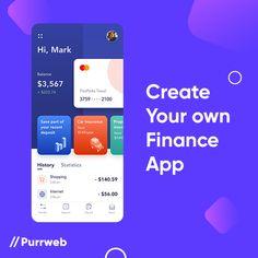 Mobile Ui Design, App Ui Design, Statistics App, Bank Branding, Taxi App, Household Budget, App Design Inspiration, Mobile App, Finance