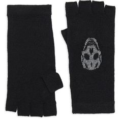 360 Cashmere Xena Skull Cashmere Metallic Gloves (950 HRK) ❤ liked on Polyvore featuring accessories, gloves, fingerless gloves, skull cashmere gloves, metallic gloves, cashmere gloves and skull fingerless gloves