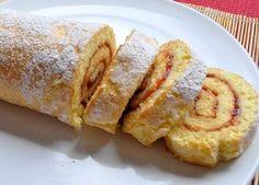 Бисквитный рулет за 5 минут — восхитительный десерт по простому рецепту...!!! / Простые рецепты