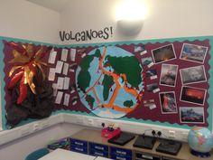 Volcanoes display