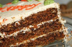 My View From The Avenue: Carrot Cake