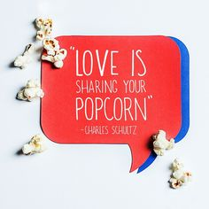Spread the love today! #PopcornIndiana #love #popcorn #snack