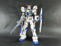 Bandai MG 1/100 RX-78-4 Gundam 4th MSV built model kit Gunpla Action Figure #Bandai