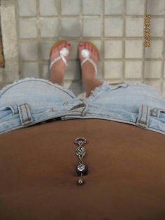 Belly piercing c;