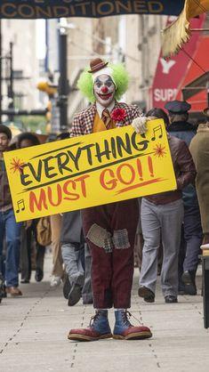 Joker Clown 2019 Movie Joaquin Phoenix HD Mobile, Smartphone and PC, Desktop, Laptop wallpaper Joker Clown, Joker Batman, Joker And Harley, Joker Comic, Joaquin Phoenix, Der Joker, Joker Art, Dc Comics, Dc Universe