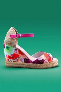 Desigual colección calzado Primavera/Verano 2014: Fotos de los modelos