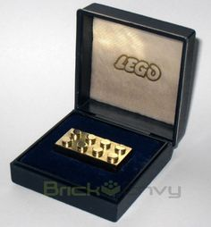 That's What A $15,000 Gold LEGO Brick Looks Like.