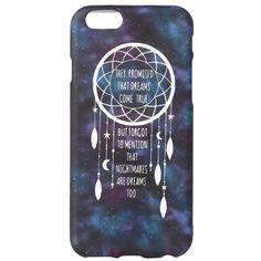 Galaxy Dreamcatcher iPhone 6 Case | Hot Topic ($9.50) found on Polyvore featuring accessories, tech accessories and phone cases