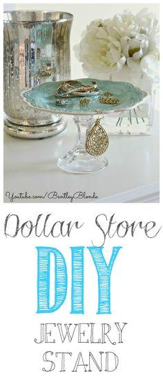 Dollar Store DIY: Jewelry Display