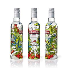 Lithuanian Original Vodka Limited Edition — The Dieline - Package Design Resource