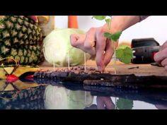 tibits Kampagne 2013 - Usan vegetales para construir ciudades europeas Eso es creatividad u.u