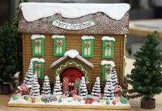 The Solvang Bakery: Personalized Christmas Gingerbread Houses with Pictures of Gingerbread Houses, Solvang California