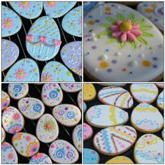 how to make royal icing for a wedding cake colorful vintage easter egg wafer papers for cookies 15983