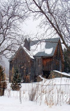 The Barn. Given how much I love these old barns, I must have been born in one in a former life.