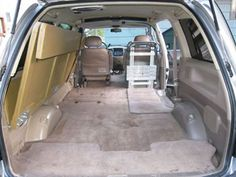 Zen Adventure Previa, Campers, Pop Tops, RVs and Adventure Vans Van Conversion Layout, Camper Conversion, Top Tents, Roof Top Tent, Toyota Previa, Living In Car, Camper Beds, Minivan Camping, Autos