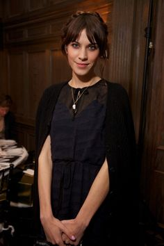 Alexa Chung tries her hand at it!