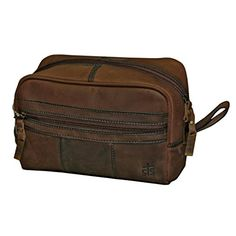 StS Ranchwear Western Bag Mens Leather Shave Kit Brown STS30550  gt  gt  gt  e71d54fc571fc