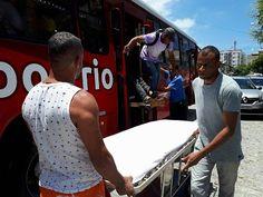 JORNAL O RESUMO: Incidente dentro do ônibus da Salineira. Motorista...