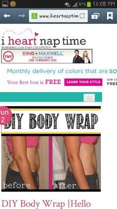 Diy body wrap