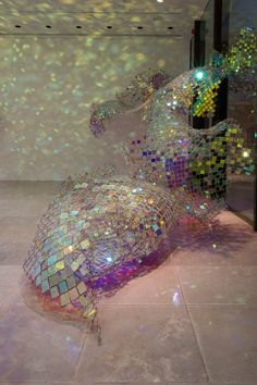 Link Fencing As Art by Soo Sunny Park I just want to be in this room for hours. Chain Link Fencing Soo Sunny Park Rice Gallery, TXI just want to be in this room for hours. Art Gallery, Light Art, Art Photography, Sculpture Art, Installation Art, Amazing Art, Sculpture, Street Art, Beautiful Art