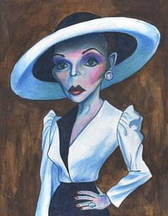 "Joan Collins in ""Dynasty"""