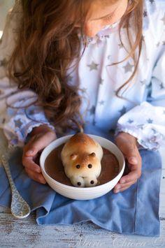 Hippos briochés Sweet Recipes, Desserts, Brioche, Kitchens, Trier, Tailgate Desserts, Deserts, Postres, Dessert