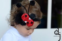 This adorable Ladybug headband is the perfect accessory for the everyday or any other occasion    This Headband would make the perfect gift,
