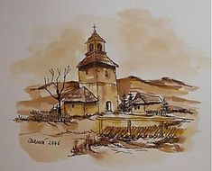 Kresby - Slovenské chalúpky - 258416 Painting, Art, Art Background, Painting Art, Kunst, Paintings, Performing Arts, Painted Canvas, Drawings
