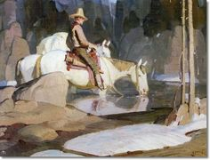 W. Herbert Dunton           L'iconoclaste