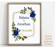 Wedding Cross Stitch Patterns, Modern Cross Stitch Patterns, Pattern Designs, Print Patterns, Cactus Cross Stitch, Alphabet And Numbers, To Color, Cross Stitching, Wedding Gifts