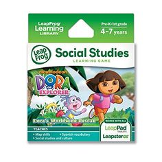 LeapFrog Dora the Explorer Learning Game (works with LeapPad Tablets and LeapsterGS) LeapFrog Enterprises http://www.amazon.com/dp/B0038AR75K/ref=cm_sw_r_pi_dp_F7azub11TA70H