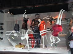 Barneys, NYC Barneys clientele are young, active people and their windows reflect their customers other interests