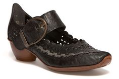Steampunk or pirate inspired footwear? Love these Rieker Mirjam mary-janes! $105