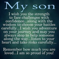Love My Son Quotes Interesting Makes Me Want To Cry Kidz Stuff  Pinterest  Gliders Sons And Times