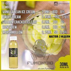 V-God (Dewbie) - фирменная кремовая жидкость со вкусом спелой медовой дыни