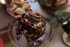 Holiday chocolate bark any one? designed by moi. Ok ok, no can't eat the cinnamon stick but I'm sure you can remove and drop in your… Chocolate Bark, One Design, Cinnamon Sticks, Panna Cotta, Canning, Eat, Ethnic Recipes, Holiday, Drop