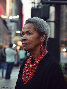 Via staysuckafree: Sheila S. Walker PhD, Cultural Anthropologist.  Her smile was shot by Mambu Bayoh