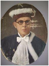 ALBERTO PEREIRA DE MORAES, 1941. Óleo sobre tela, 60 x 46 cm. Autora: Antonieta Santos Feio.