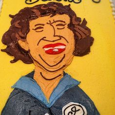 Here at PBS, we celebrated with this quite impressive and tasty Julia Child cake. Pbs Food, Cooking School, Amazing Cakes, Delicious Food, Tasty, 4 Life, Bon Appetit, Celebrities, Child