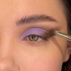 Purple Eye Makeup, Small Eyes Makeup, Soft Eye Makeup, Fancy Makeup, Dope Makeup, Quick Makeup, Edgy Makeup, Creative Eye Makeup, Eye Makeup Steps