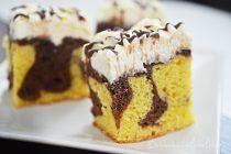 Chec cu visine si crema mascarpone Krispie Treats, Rice Krispies, Fudge, Tiramisu, Muffins, Cupcakes, Sweet, Ethnic Recipes, Desserts