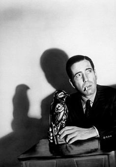 """""""The Maltese Falcon"""" was released in 1941, with a bigger budget and bigger stars than many of the B-movie noirs to follow. It's a template for the genre, with Humphrey Bogart as the hard-bitten but morally compromised hero, Mary Astor as the femme fatale, Sydney Greenstreet and Peter Lorre as slimy villains, and Elisha Cook, Jr., as the gun-toting enforcer."""