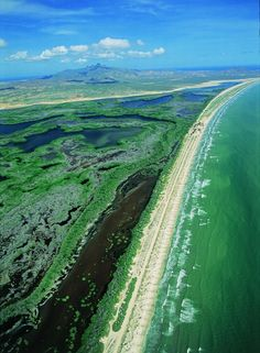 Laguna de La Restinga - Isla de Margarita, Venezuela ~ endless beach #travel #photography