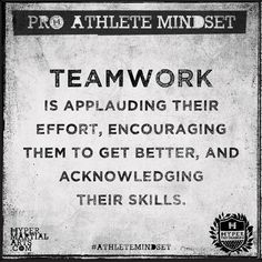 TEAMWORK is applauding their effort, encouraging them to get better, and acknowledging their skills. Team Effort Quotes, Team Quotes Teamwork, Good Teamwork, Work Motivational Quotes, Inspirational Quotes, Quotes Motivation, Fitness Quotes, Working Together Quotes, Volleyball Quotes