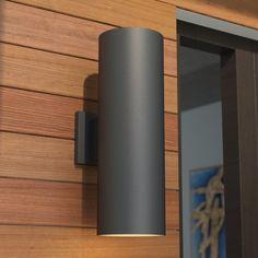 MURO LAMPADA ESTERNO MARRONE ANTICO Lampada facciata continua Lampada esterno muro casa lampada da parete