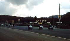 350cc race starts at German GP.